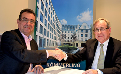 Kommerling-WSB14 Collaboration signing