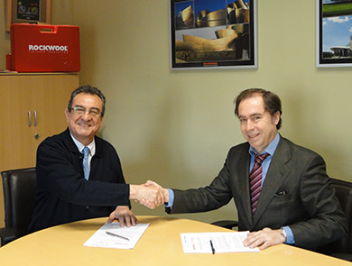 Signing of Collaboration agreement Rockwool-WSB14